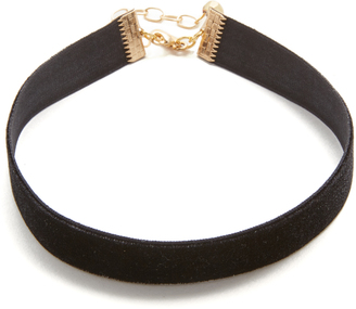 Vanessa Mooney Velvet Choker Necklace $33 thestylecure.com
