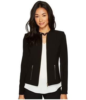 Calvin Klein Lux Jacket with Zip