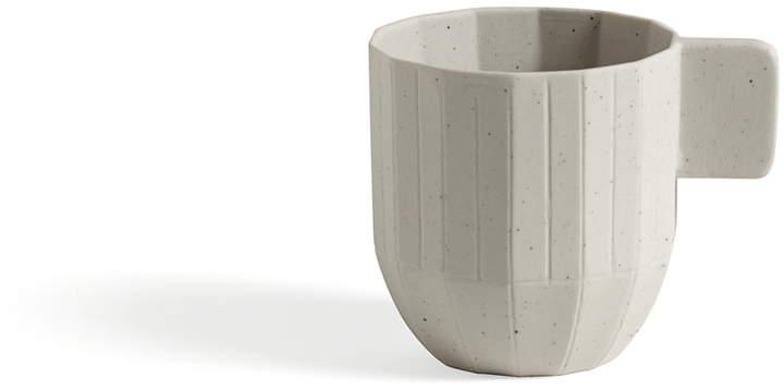 Hay - Paper Porcelain Espressotasse, Hellgrau