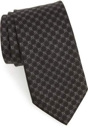 Salvatore Ferragamo Erice Geometric Silk Tie