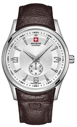 Swiss Military Hanova Women's 36mm Leather Band Quartz Watch 06-6209.04.001