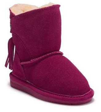 BearPaw Mia Tassel Boot with Genuine Sheepskin Footbed (Toddler & Little Kid)