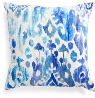 Made In India 22x22 Ikat Pillow