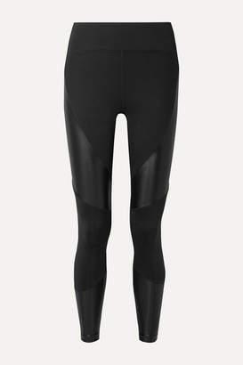 Koral Forge Paneled Stretch Leggings - Black