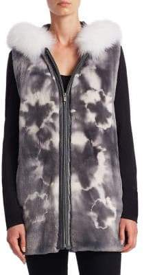 The Fur Salon Sheared Fur Vest