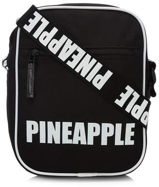Pineapple Girls' Black Logo Cross Body Bag