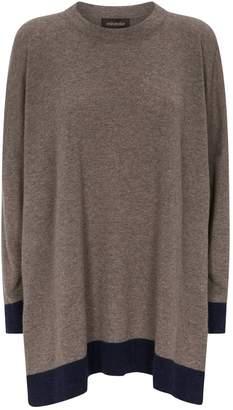 eskandar Cashmere Contrasting Trim Sweater