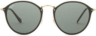 Ray-Ban Rb3574n Blaze round-frame sunglasses