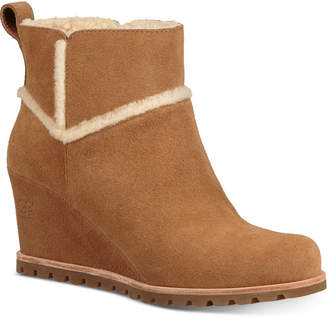 UGG Women's Marte Wedge Booties
