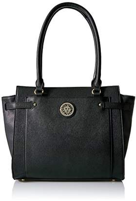 Anne Klein Clean Scene Winged Shopper Tote $99 thestylecure.com