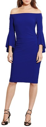 Lauren Ralph Lauren Bell-Sleeve Dress $154 thestylecure.com