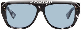 Dior Black and Blue Dior Club 2 Sunglasses