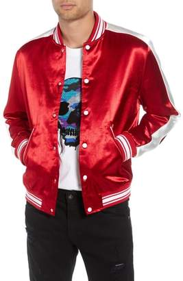 The Kooples Tedy Regular Fit Striped Jacket
