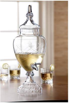 Jay Imports Winston Glass Beverage Dispenser
