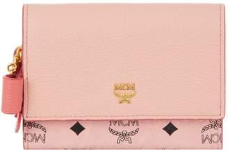 MCM Mina Bow Charm Wallet