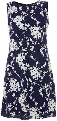Dorothy Perkins Womens *Quiz Navy Floral Print Shift Dress
