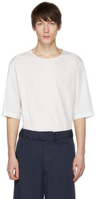 Lemaire White Poplin T-Shirt