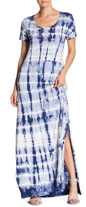 Couture Go Mid Sleeve Washed Maxi Dress