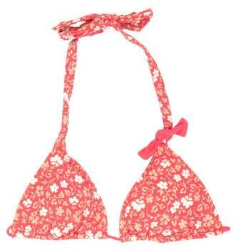 Marc By Marc Jacobs Marc by Marc Jacobs Floral Bikini Top w/ Tags