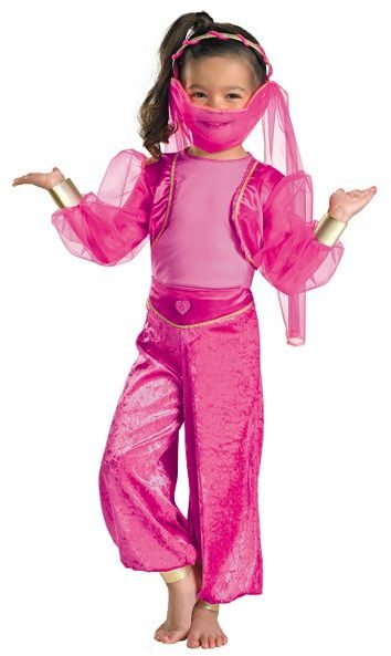 Disguise™ Tickled Pink Genie Costume - Toddler