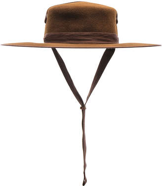 672c1d3d Lola Hats Winter Zorro Hat in Cinnamon | FWRD