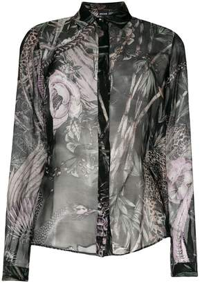 Just Cavalli New World print shirt