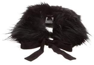 Imoga Girls' Faux Fur Collar