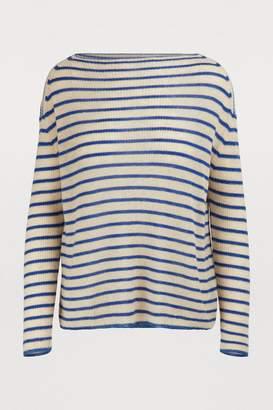 Forte Forte Striped cashmere sweater