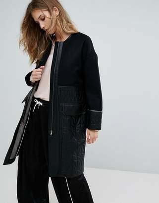 Urban Code Urbancode Ivanna Quilted Coat