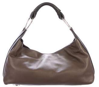 Giorgio Armani Bicolor Leather Hobo