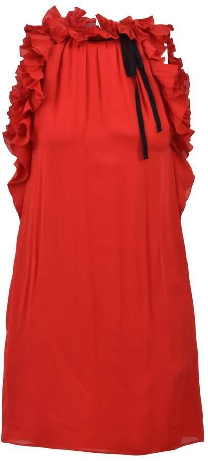 Gucci Silk Red Dress