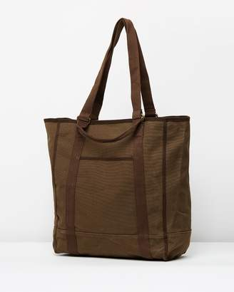 J.Crew Stonewashed Canvas Tote