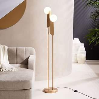 west elm Bower LED Floor Lamp - Brass