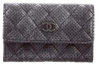 Chanel Perforated CC Card Case