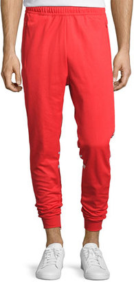 Adidas Striped Track Pants, Red $70 thestylecure.com