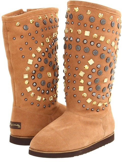 Nina Rubies (Toddler/Youth) (Chestnut) - Footwear