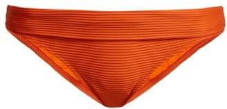 Heidi Klein Casablanca Fold Over Bikini Briefs - Womens - Orange