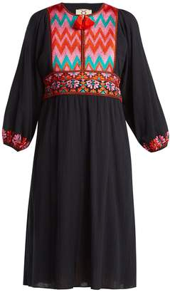 Figue Violeta embroidered dress