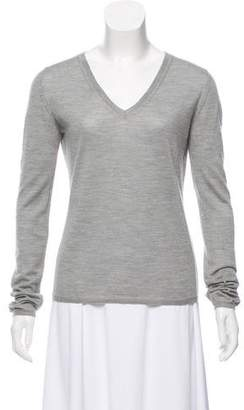 Miu Miu V-Neck Knit Sweater
