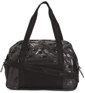 Camo Printed Gym Bag