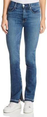 Hudson Heartbreaker Released Hem Bootcut Jeans in Split Second