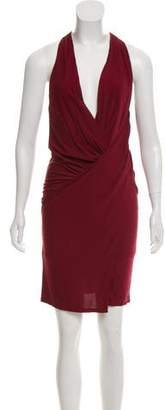 Haute Hippie Sleeveless Knee-Length Dress