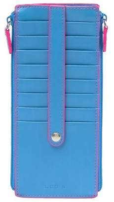 Lodis Joan Leather Double Zip Card Case