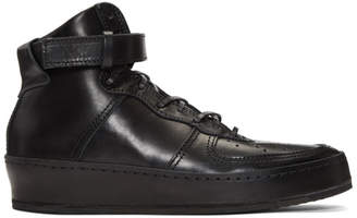 Hender Scheme Black Manual Industrial Products 01 High-Top Sneakers