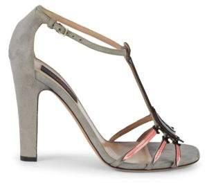 4d95bda80c11 Valentino Broken Heart Pendant High-Heel Sandals