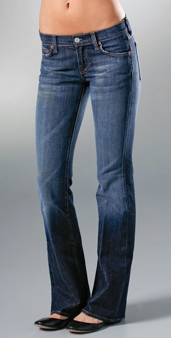 7 For All Mankind Flare Stretch Jean