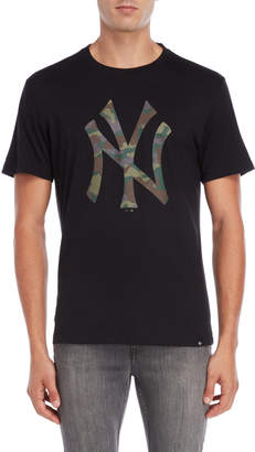 '47 New York Yankees Camo Logo Tee