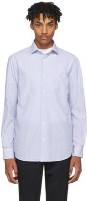 Paul Smith and White Pinstripe Tipping Effect Shirt
