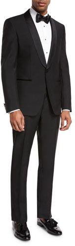Hugo BossBoss Hugo Boss Satin-Collar Two-Piece Tuxedo, Black