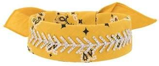 Fallon embellished bandana choker